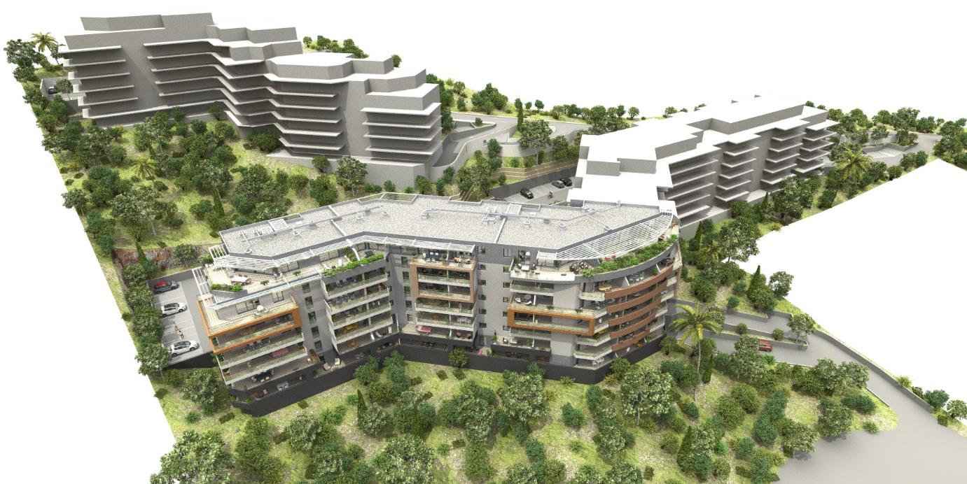 Residence genovese programme neuf entree de ville for Piscine ajaccio