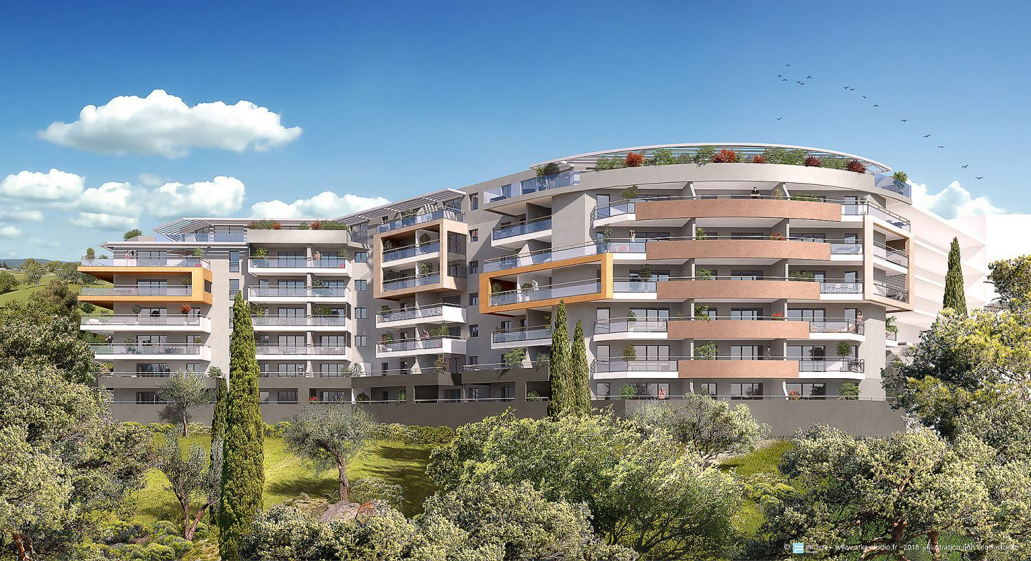 RESIDENCE GENOVESE - BAT A4 - Immeuble OMIGNA -