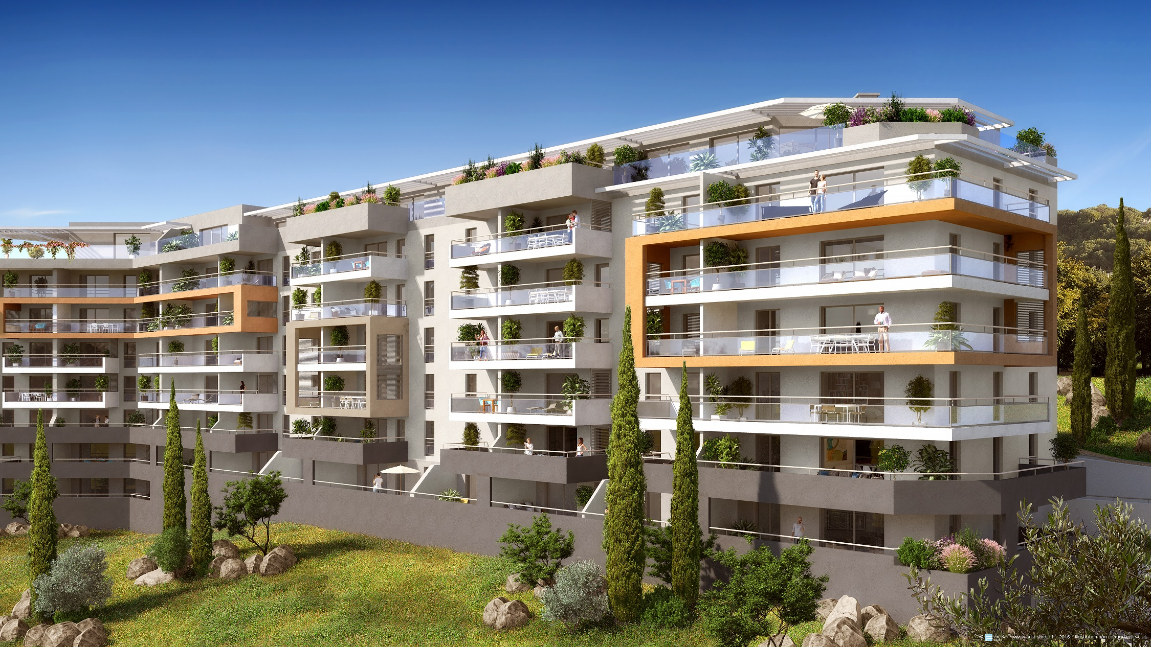 RESIDENCE GENOVESE - BAT A2 - Immeuble PARATA -